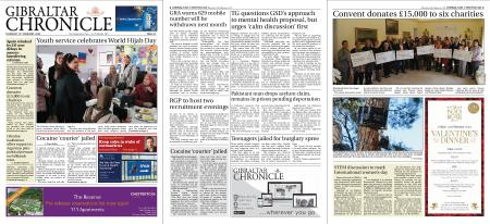 Gibraltar Chronicle – 13 February 2020