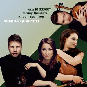 Armida Quartett - Mozart: String Quartets, Vol. 2 (2019)