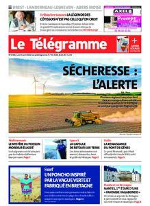 Le Télégramme Brest Abers Iroise – 03 août 2020