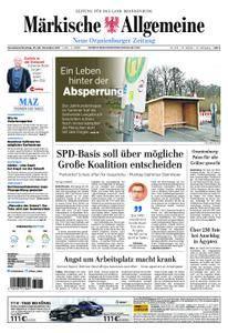 Neue Oranienburger Zeitung - 25. November 2017