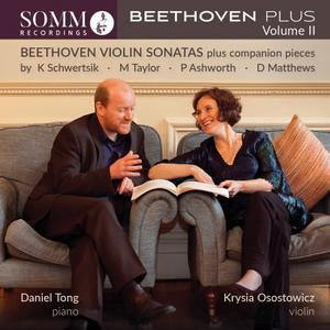 Krysia Osostowicz & Daniel Tong - Beethoven Plus, Vol. 2 (Live) (2019)