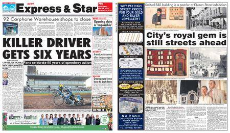 Express and Star City Edition – May 30, 2018