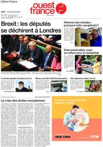 Ouest-France Édition France – 05 septembre 2019