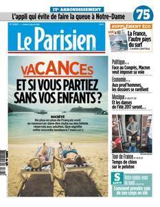Le Parisien du Lundi 3 Juillet 2017