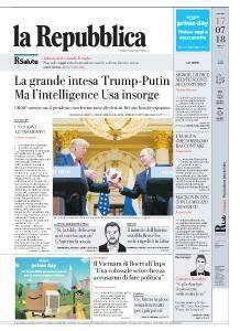 la Repubblica - 17 Luglio 2018
