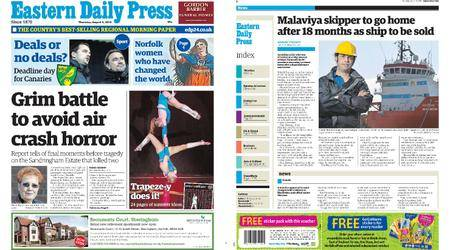 Eastern Daily Press – August 09, 2018