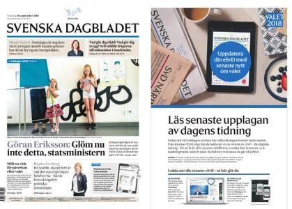 Svenska Dagbladet – 10 september 2018