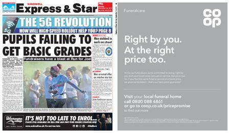 Express and Star Sandwell Edition – September 10, 2018