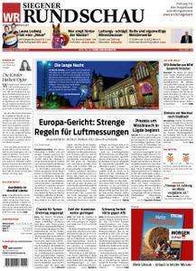 Westfälische Rundschau Siegen - 27. Juni 2019