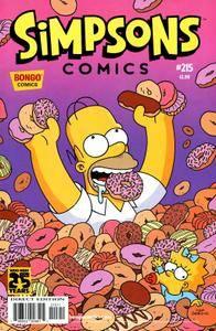 Simpsons Comics 215