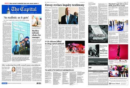 The Capital – November 06, 2019