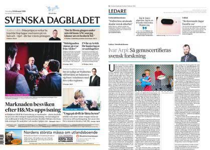 Svenska Dagbladet – 15 februari 2018