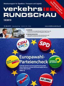 VerkehrsRundschau - 07. Mai 2019
