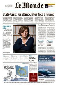 Le Monde du Jeudi 3 Janvier 2019