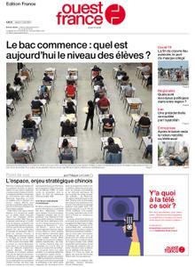 Ouest-France Édition France – 17 juin 2021
