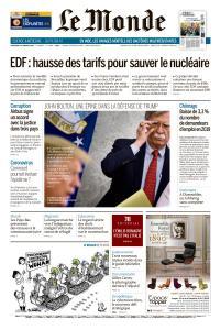 Le Monde du Mercredi 29 Janvier 2020
