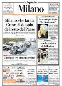 la Repubblica Milano - 8 Novembre 2019