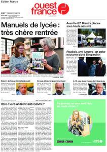 Ouest-France Édition France – 21 août 2019