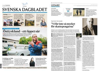 Svenska Dagbladet – 27 juli 2019