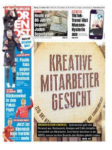 Hamburger Morgenpost – 25. Oktober 2021