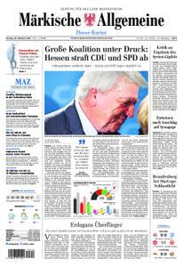 Märkische Allgemeine Dosse Kurier - 29. Oktober 2018