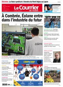 Le Courrier de l'Ouest Nord Anjou – 25 octobre 2021