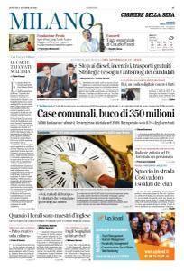 Corriere della Sera Milano - 18 Febbraio 2018