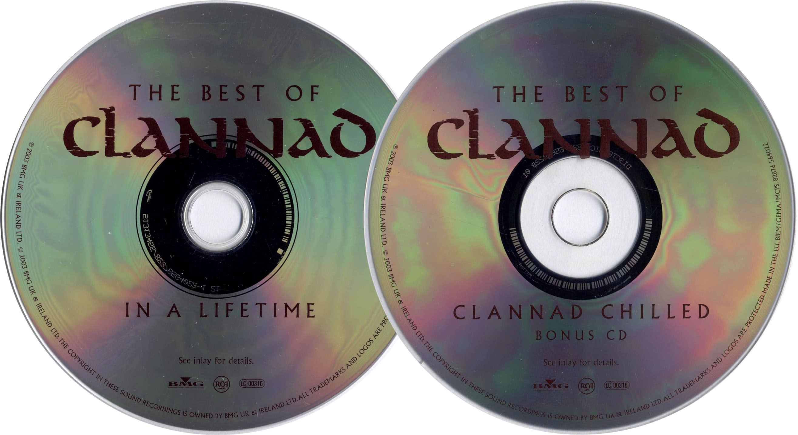 Clannad - In A Lifetime: The Best Of Clannad (2003) 2CD Edition [Re-Up]