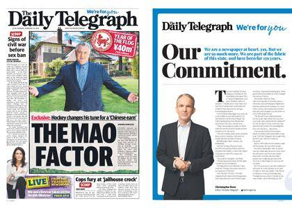 The Daily Telegraph (Sydney) – February 19, 2018