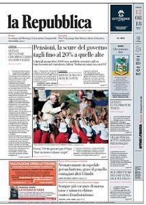 la Repubblica - 12 Agosto 2018