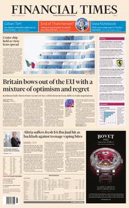 Financial Times Europe – 31 January 2020