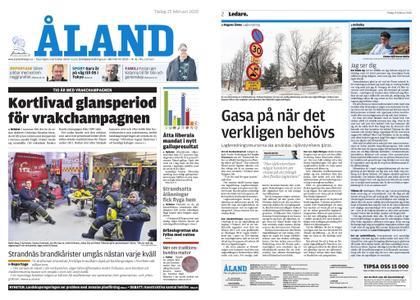 Ålandstidningen – 25 februari 2020