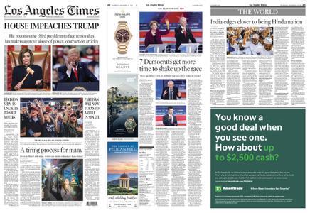 Los Angeles Times – December 19, 2019