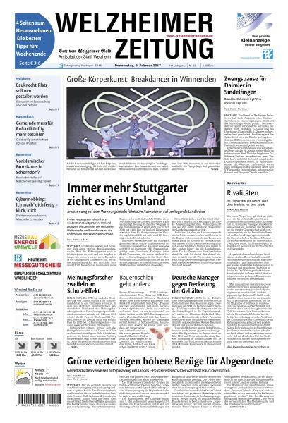 Welzheimer Zeitung - 9 Februar 2017