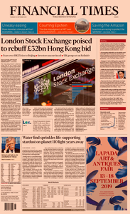 Financial Times Europe – 12 September 2019