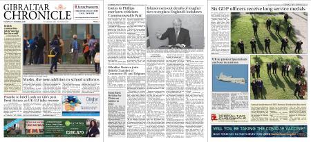 Gibraltar Chronicle – 24 November 2020