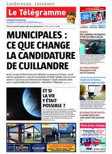 Le Télégramme Landerneau - Lesneven – 13 septembre 2019