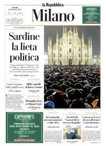 la Repubblica Milano - 2 Dicembre 2019