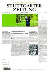 Stuttgarter Zeitung Blick vom Fernsehturm - 12. Dezember 2019