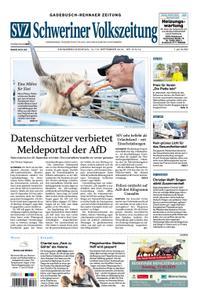 Schweriner Volkszeitung Gadebusch-Rehnaer Zeitung - 14. September 2019