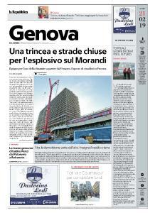 la Repubblica Genova - 21 Febbraio 2019