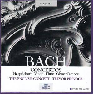 Trevor Pinnock, The English Concert - J.S. Bach: Concertos (2001) 5CD Box Set
