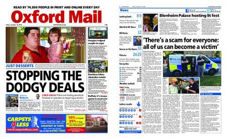 Oxford Mail – October 12, 2018