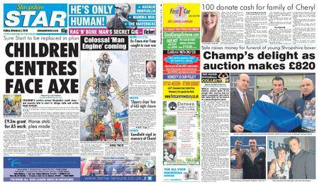 Shropshire Star Shrewsbury Edition – February 02, 2018