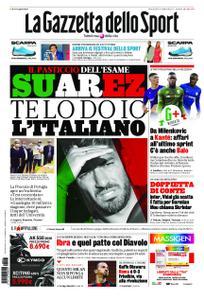 La Gazzetta dello Sport Roma – 23 settembre 2020