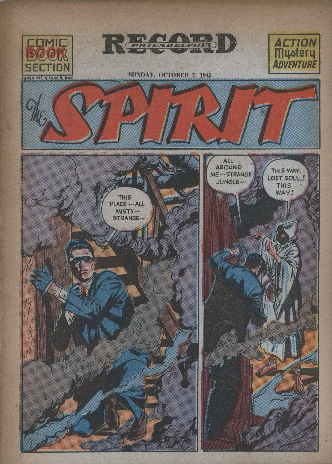 Spirit Section 280 (1945-10-07) (Philadelphia Record) (Snardermann)