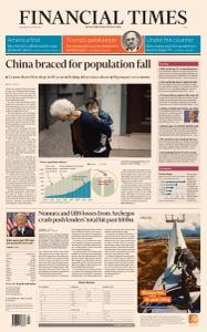 Financial Times Asia - April 28, 2021