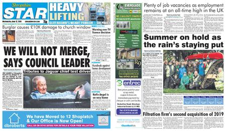 Shropshire Star Shrewsbury Edition – June 12, 2019