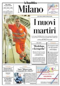 la Repubblica Milano - 15 Gennaio 2020