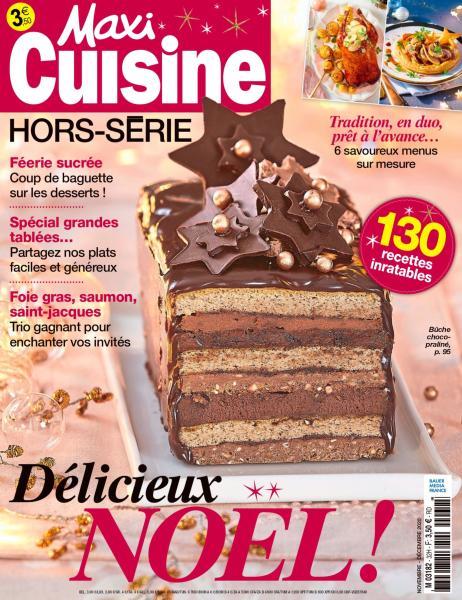 Maxi Cuisine Hors Série N°32 - Novembre-Décembre 2020
